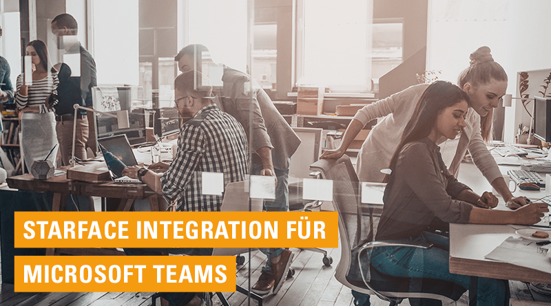 Microsoft Teams mit STARFACE-Integration